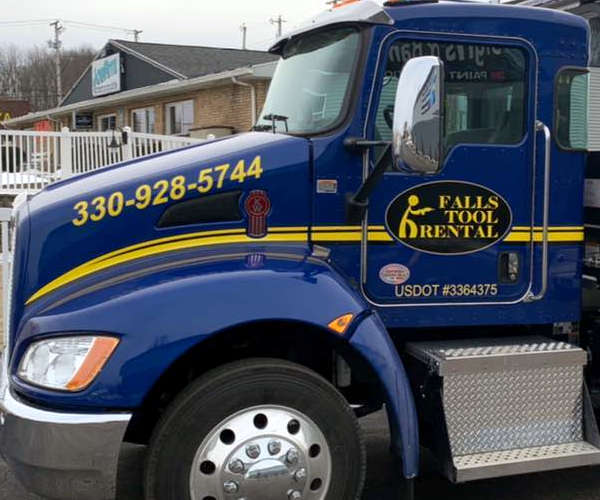 Equipment Delivery Service at Falls Tool Rental